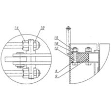 Юбка противосифонная КГУ-114-18